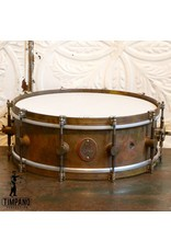 A&F Drum Co A&F Raw Brass Snare Drum 14X5in