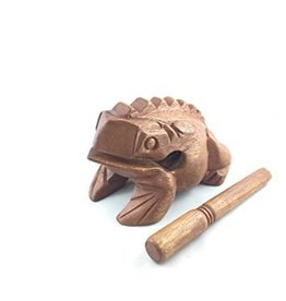 GMP Wooden Frog GMP 5in