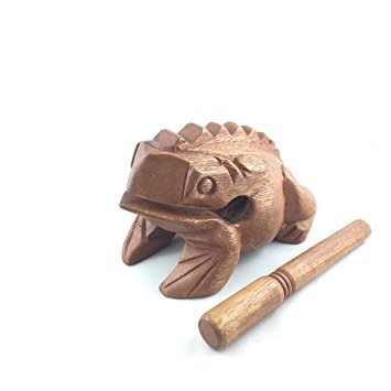 GMP Wooden Frog GMP 8in