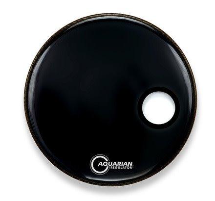 "Aquarian Aquarian Regulator SM Black Bass Reso Head 22"""