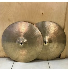 Zildjian Used Hi-Hat Cymbals Zildjian New Beat (made in Canada)14po