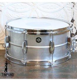 Q Drum Company Q Drum Gentlemen's Aluminum Snare Drum 14X7in