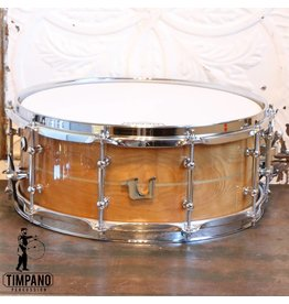 Unix Unix Curly Birch Steambent Snare Drum 14X5.5in