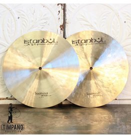 Istanbul Agop Istanbul Agop Traditional Medium Hi Hat Cymbals 14in