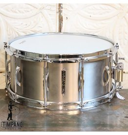 Black Swamp Percussion Caisse claire Black Swamp Dynamicx Sterling Titanium 14X6.5po