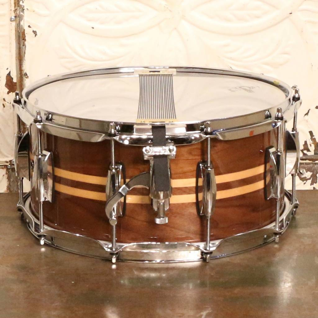 Gretsch Gretsch Walnut Snare Drum (with maple inlays) 14X6.5in