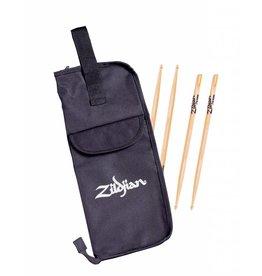 Zildjian 2 pairs of Zildjian Drum Sticks with Pouch