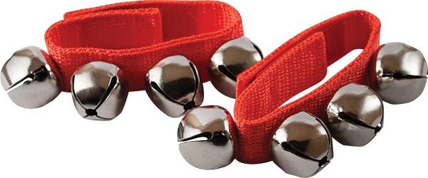 Mano Wrist Bells Mano Red (pair)