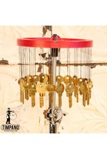 Ron Vaughn Ron Vaughn Rotating wind key chime with percussion mounting rod and bearing