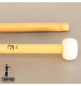 MB Mallets Baguettes de timbale MB Mallets Pro-Solo Bamboo 1W Staccato Wood Core