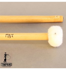 MB Mallets MB Mallets Pro-Solo Bamboo 2W Medium Wood Core Timpani Mallets