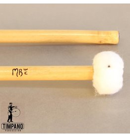 MB Mallets MB Mallets Pro-Solo Bamboo 3W General Wood Core Timpani Mallets