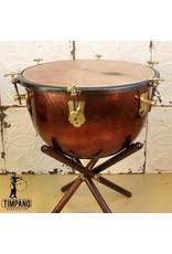 """Adams Adams Baroque Timpani with Wooden Cradle & Calf Head 23"""""""