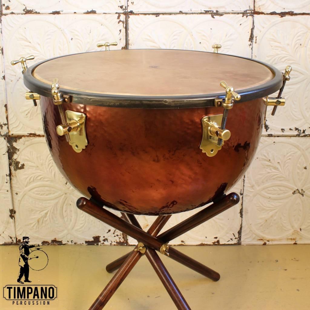 """Adams Adams Baroque Timpani with Wooden Cradle & Calf Head 26"""""""