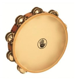 Black Swamp Percussion Tambourine Black Swamp German Silver Peau Synthétique 10po