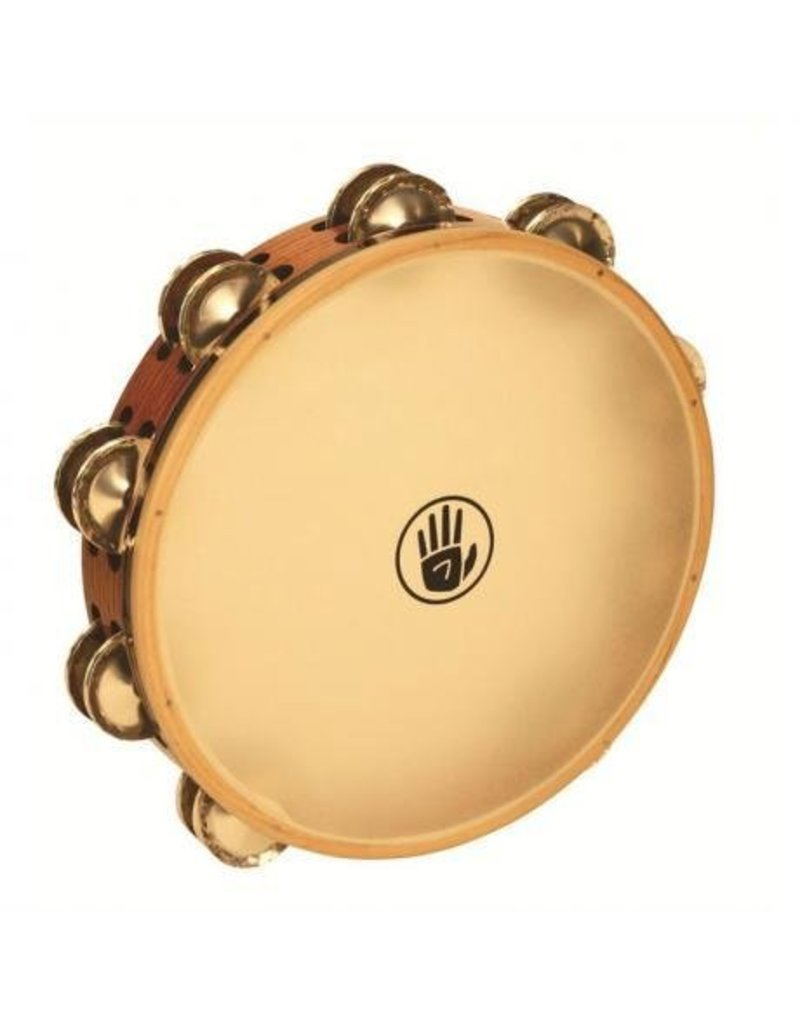 Black Swamp Percussion Black Swamp Tambourine German Silver Synthetic Head 10in