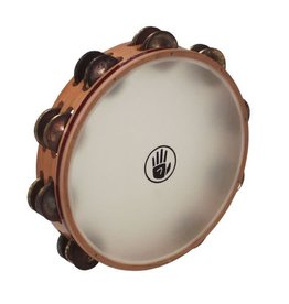 Black Swamp Percussion Black Swamp TambourineAged Brass Synthetic Head 10in