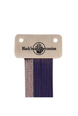 Black Swamp Percussion Black Swamp Uncoated Stainless+ Blue Coated Wrap-around Snares