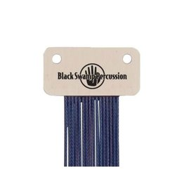 Black Swamp Percussion Chaînes de caisse claire Black Swamp Blue Coated Stainless Wrap-around style