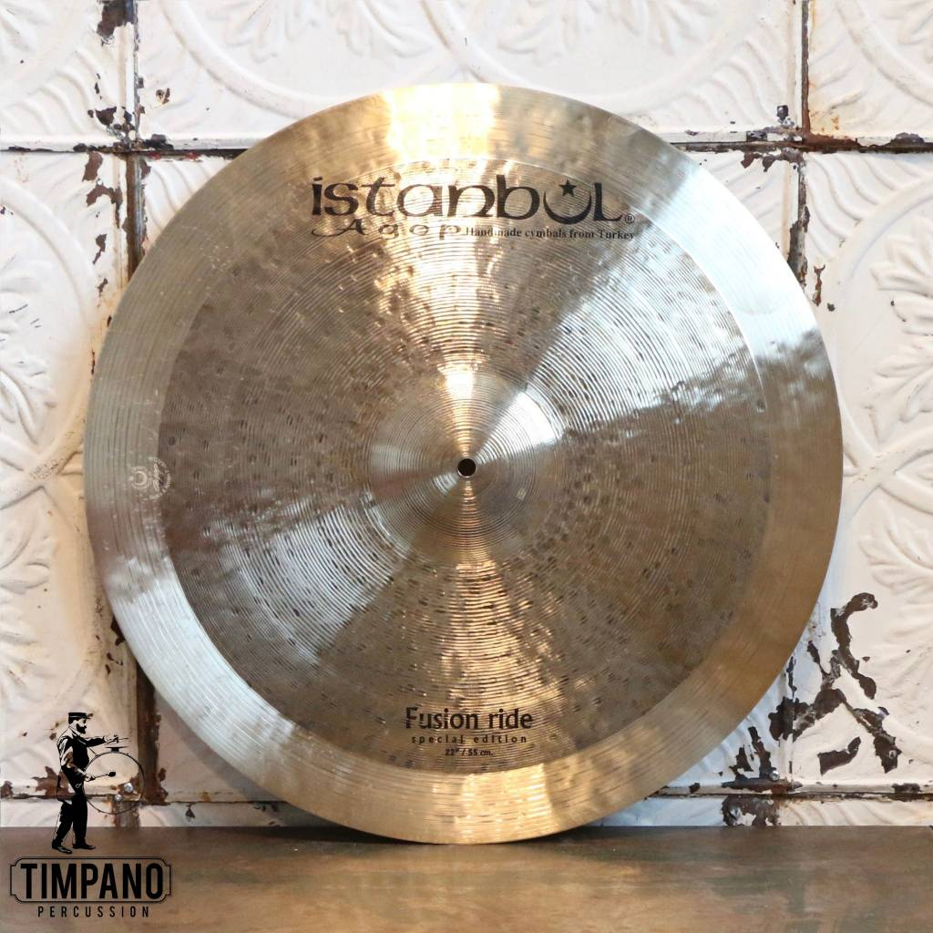 Istanbul Agop Cymbale ride Istanbul Agop Fusion édition spéciale 22po