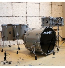 Sonor Sonor ProLite Limited Edition Drum Kit 22-10-12-14-16in - Solid Lite Grey