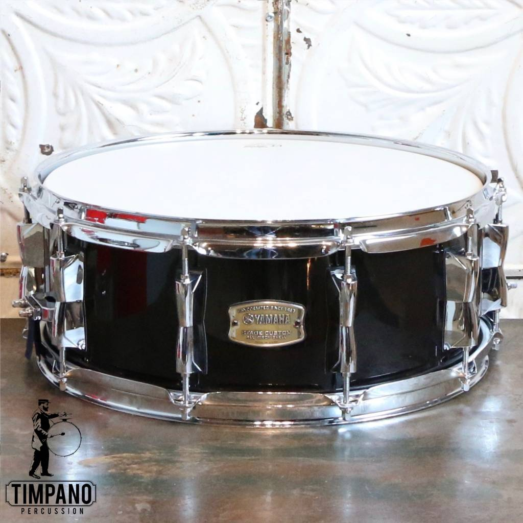 471ce0ec1e47 Yamaha Yamaha Stage Custom Snare Drum 14X5.5in Real Black -  Timpano-percussion