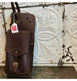 Tackle Instrument Supply Co. Tackle Brown Leather Stick Bag