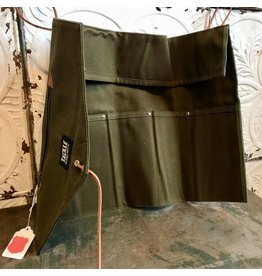 Tackle Instrument Supply Co. Tackle Waxed Canvas Roll-up Forest Green Stick Bag