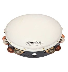 Grover Grover Tambourine German Silver and Phosphor Bronze 10in