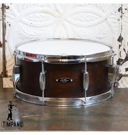 C&C Drum Company C&C Player Date I Snare Drum in Walnut Satin 6.5x14in