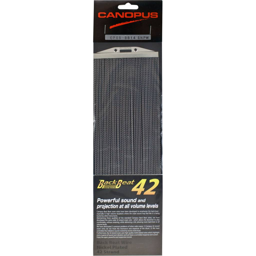 Canopus Canopus Backbeat Snare Wires 42 strands 14in