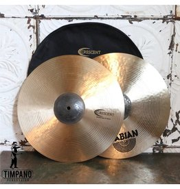 Crescent Cymbales hi-hat Crescent Element 15po