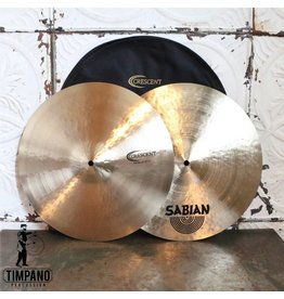Crescent Crescent Stanton Moore Fat Hi-hat Cymbals 15in