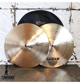 Crescent Cymbales hi-hat Crescent Stanton Moore Fat 15po (avec étui)