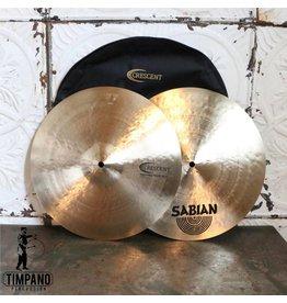 Crescent Cymbales hi-hat Crescent Hammertone 14po