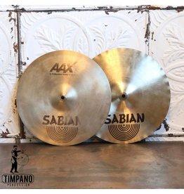 Sabian Used Sabian AAX X-Celerator Hi-hat Cymbals 14in