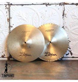 Zildjian Cymbales hi-hat usagées Zildjian Mastersound 13po