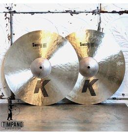 Zildjian Cymbales hi-hat Zildjian K Sweet 16po