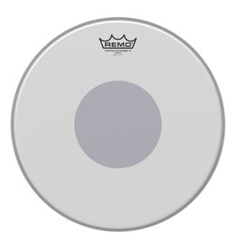 Remo Peau Remo Controlled Sound X Coated Bottom Black Dot 14po