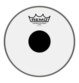 Remo Remo Controlled Sound Clear Top Black Dot Drum Head 8""