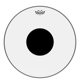 Remo Remo Controlled Sound Clear Top Black Dot Drum Head 18""