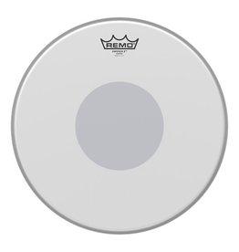 Remo Peau Remo Emperor X Coated Bottom Black Dot 14po