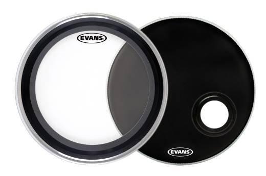 "Evans Evans EMAD System Bass Drum Heads 22"""