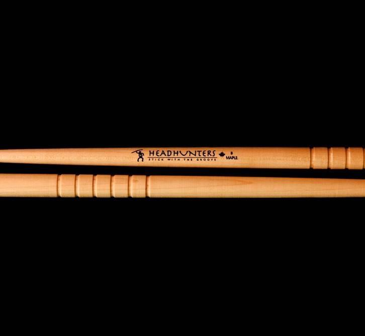 Headhunters Headhunters MG B BOP Maple Grooves Drum Sticks