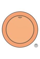 Remo Powerstroke P3 Colortone Orange Bass Head 24in