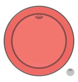 Remo Peau Powerstroke P3 Colortone Rouge Bass 20po 5po Offset Hole