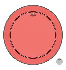 Remo Powerstroke P3 Colortone Red Bass Head 22in