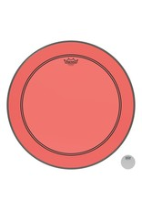 Remo Powerstroke P3 Colortone Red Bass Head 24in