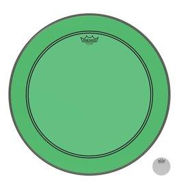 Remo Powerstroke P3 Colortone Green Bass Head 22in