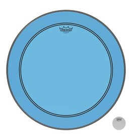 Remo Powerstroke P3 Colortone Blue Bass Head 22in 5in Offset Hole